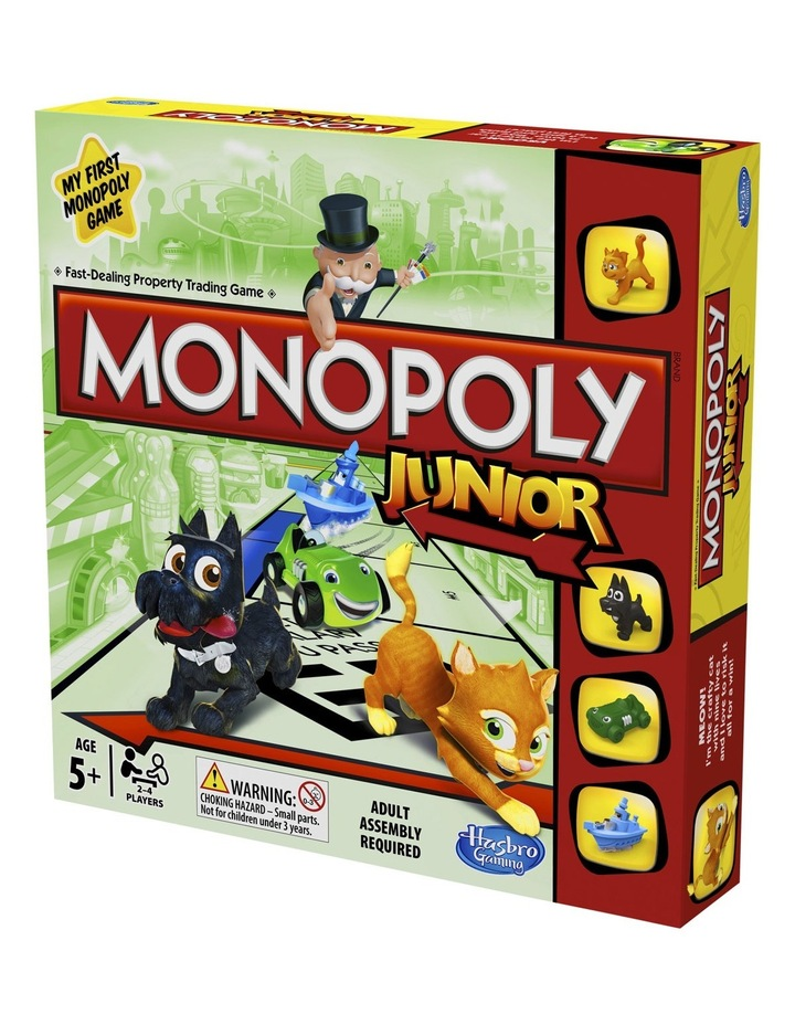 Monopoly Junior A6984 image 1