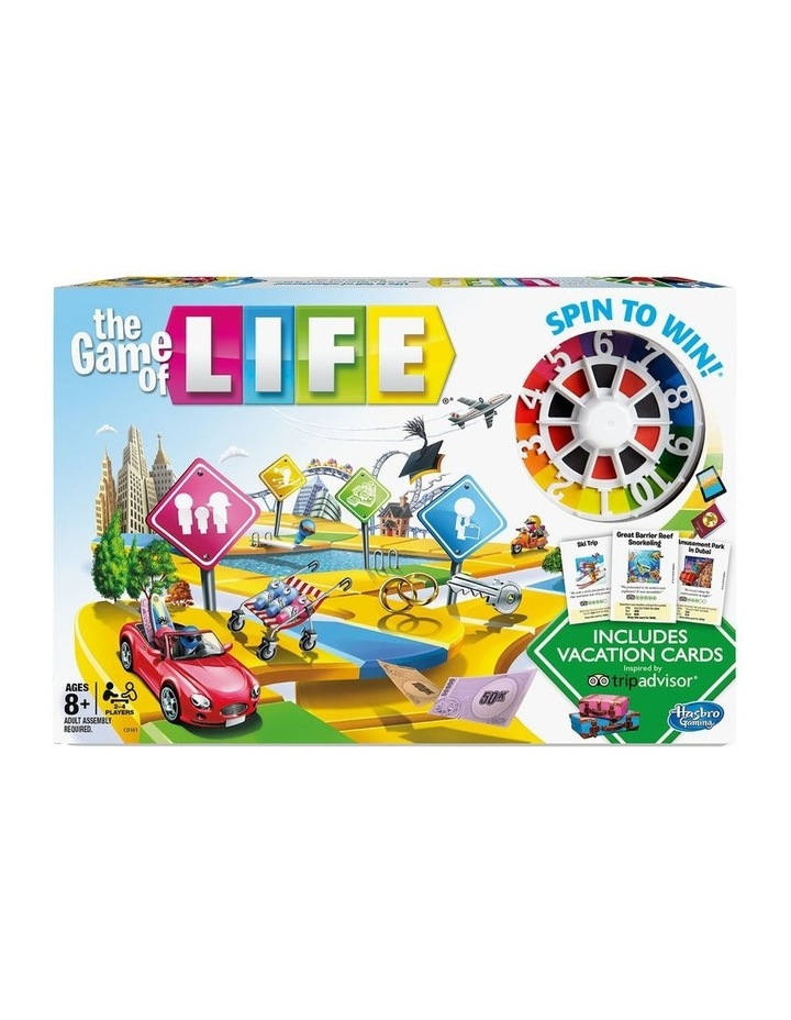 The Game of Life - Trip Advisor Holiday Edition image 1