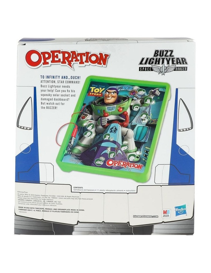 Operation : Disney / Pixar Toy Story Buzz Lightyear - Board Games for Kids Ages 6  image 4