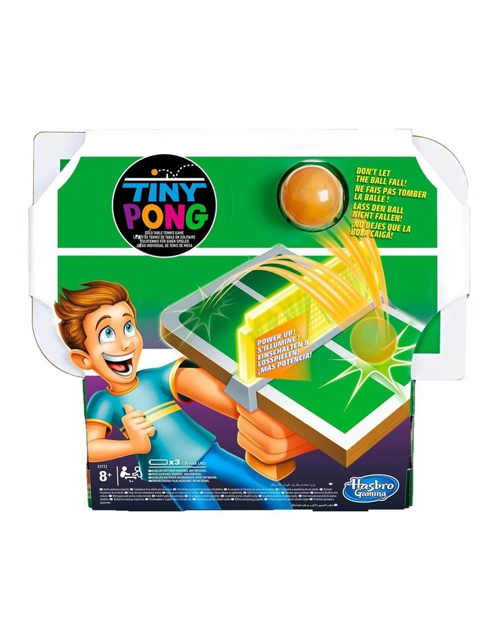 Tiny Pong Table Tennis Electronic Handheld Game image 1