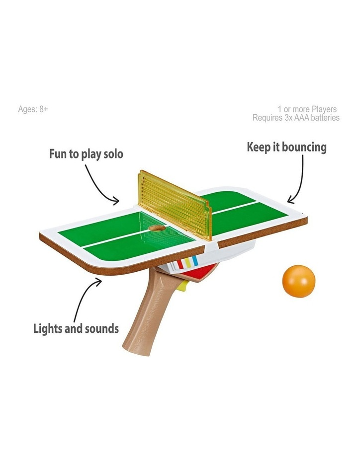 Tiny Pong Table Tennis Electronic Handheld Game image 3