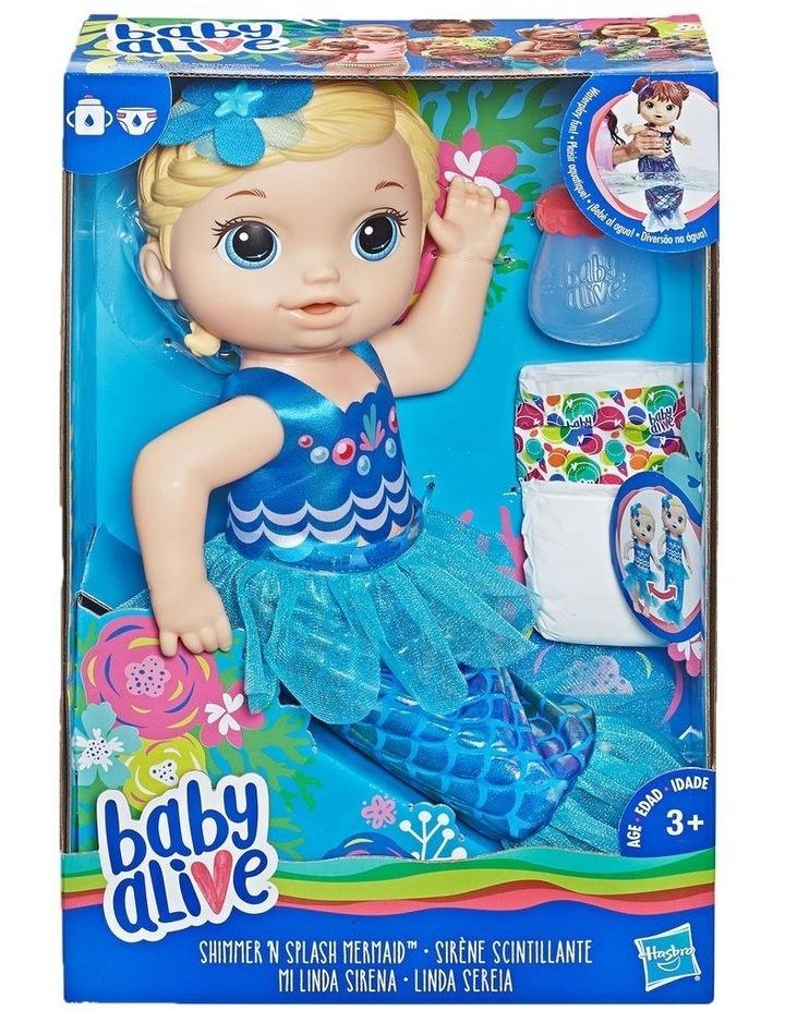 Shimmer & Splash Mermaid Interactive Baby Doll image 1