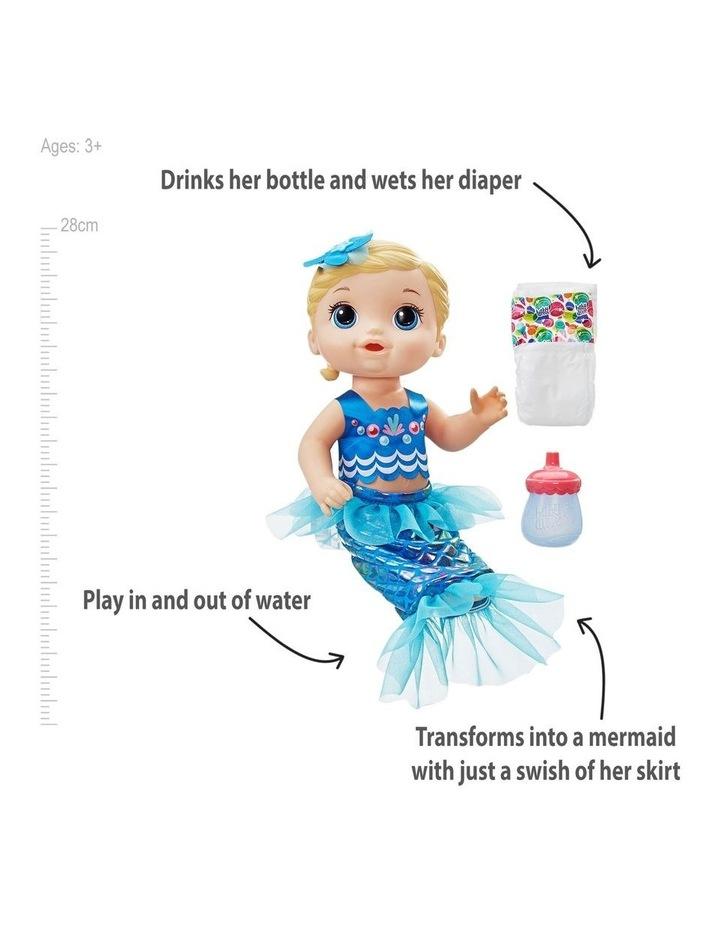 Shimmer & Splash Mermaid Interactive Baby Doll image 4