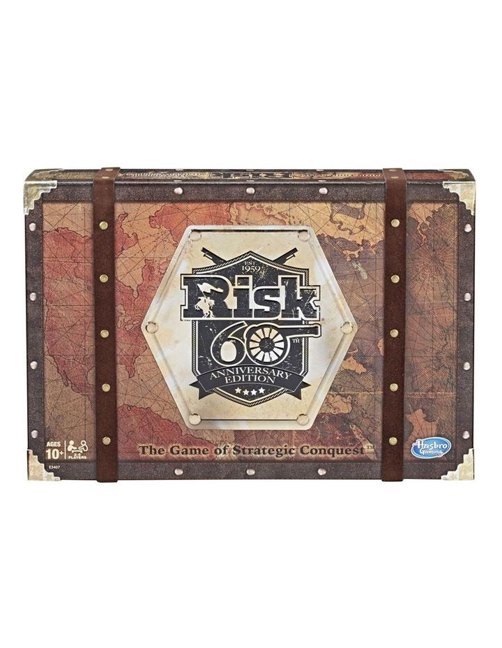 Risk - 60th Anniversary Edition - Game of Strategic Conquest image 1