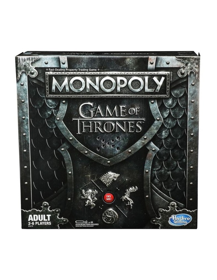 Monopoly Game of Thrones Edition - Winterfell Castle, Westeros image 1