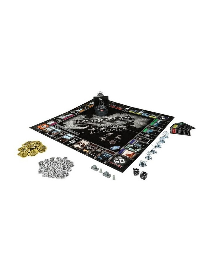 Monopoly Game of Thrones Edition - Winterfell Castle, Westeros image 2