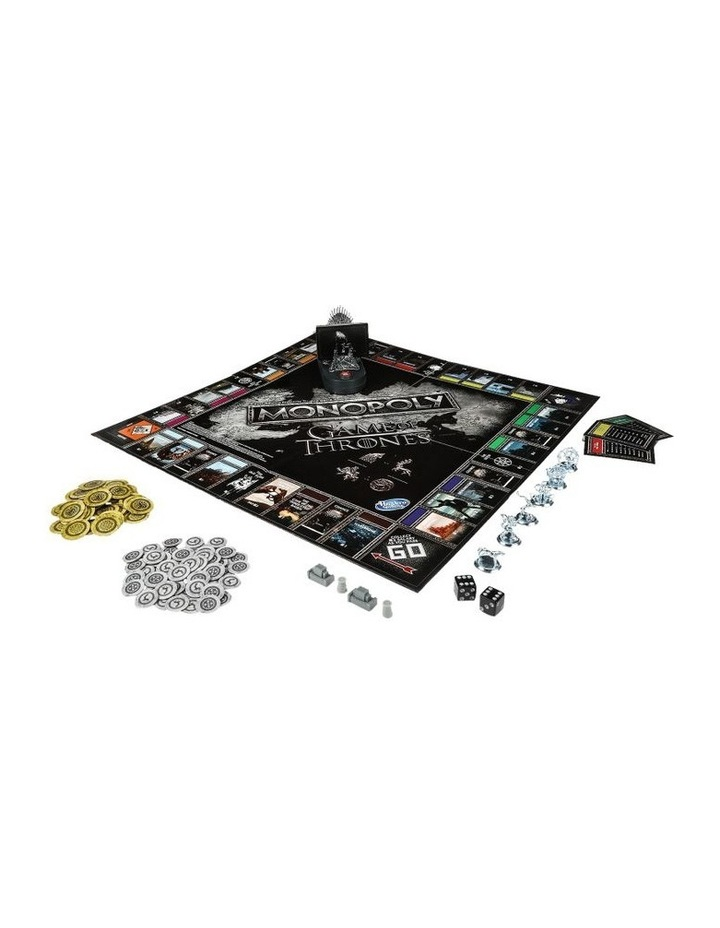 Monopoly Game of Thrones Edition - Winterfell Castle, Westeros image 3