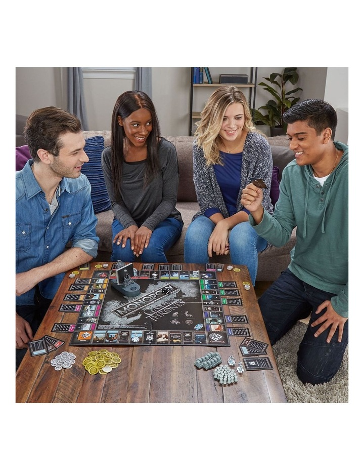 Monopoly Game of Thrones Edition - Winterfell Castle, Westeros image 5