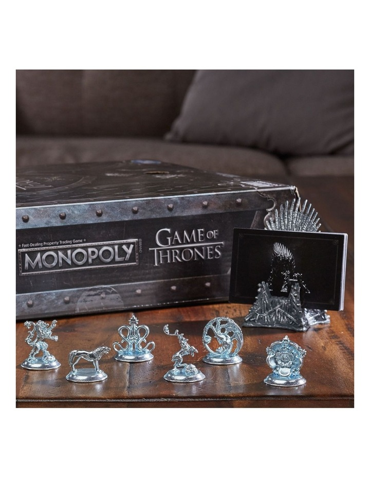 Monopoly Game of Thrones Edition - Winterfell Castle, Westeros image 6
