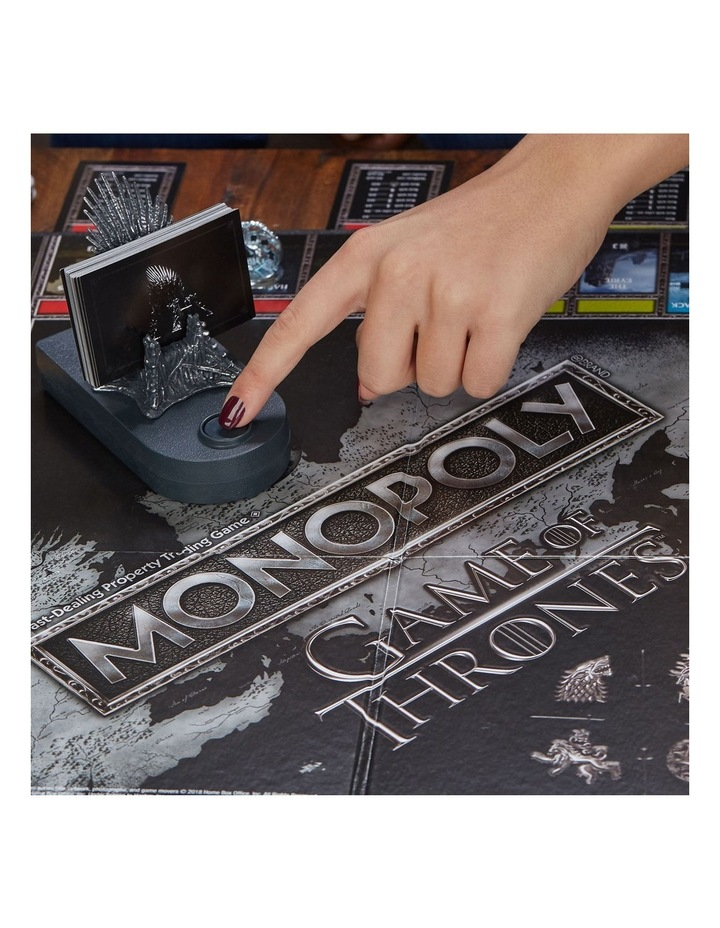Monopoly Game of Thrones Edition - Winterfell Castle, Westeros image 7