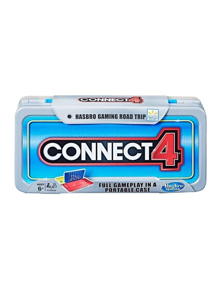Connect 4 - Road Trip Edition - Full Game Play in a Portable Case image 1