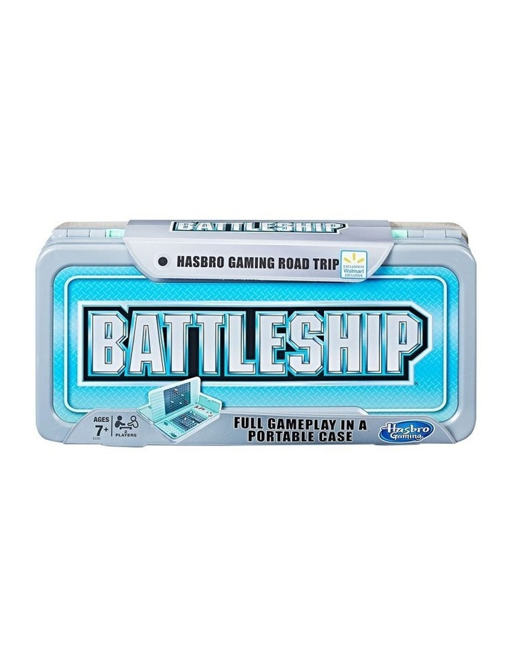 Battleship - Road Trip Edition - Full Game Play in a Portable Case image 1