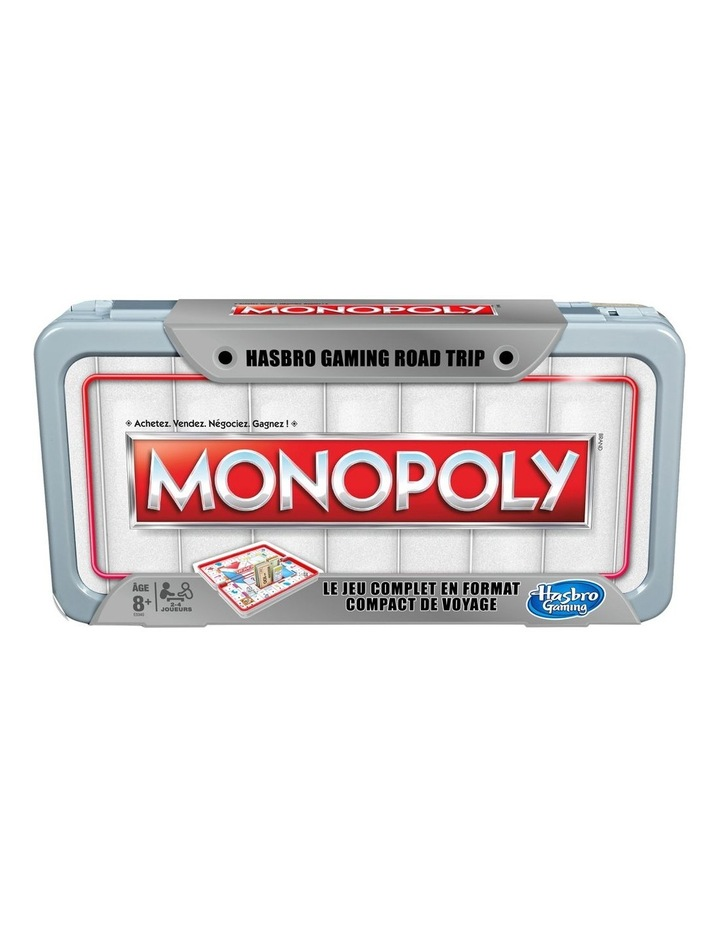 Monopoly Road Trip Edition - Full Gameplay in a Portable Case image 1