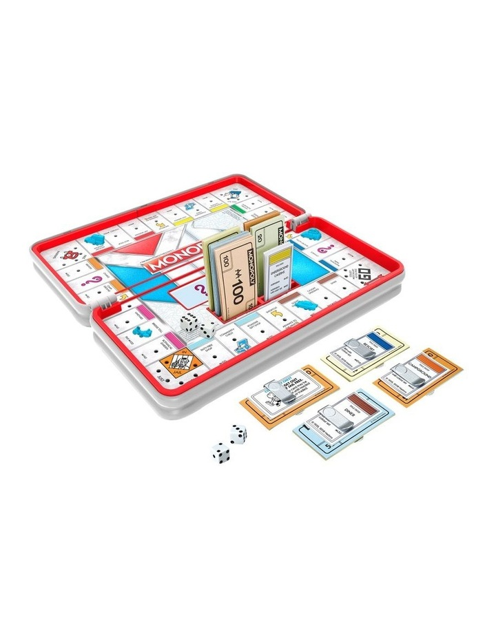 Monopoly Road Trip Edition - Full Gameplay in a Portable Case image 2