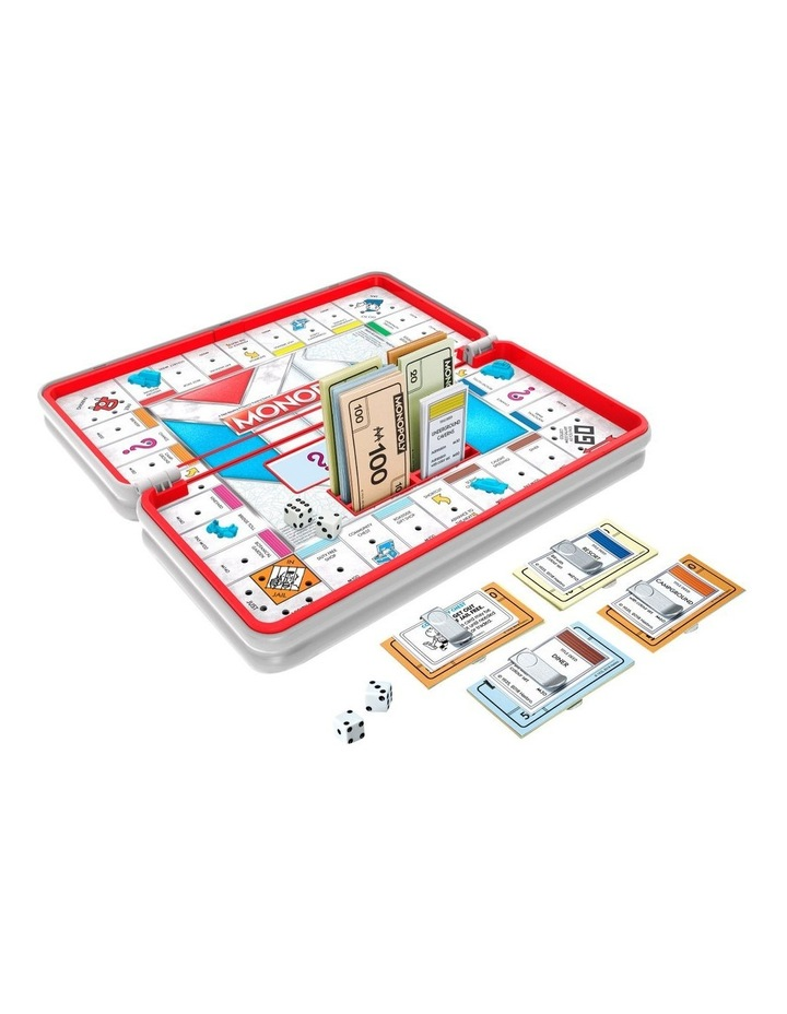 Monopoly Road Trip Edition - Full Gameplay in a Portable Case image 3