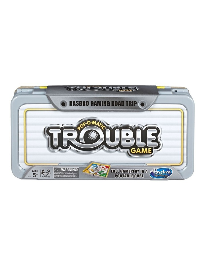 Pop O Matic Trouble - Road Trip Edition - Portable Board Games image 1