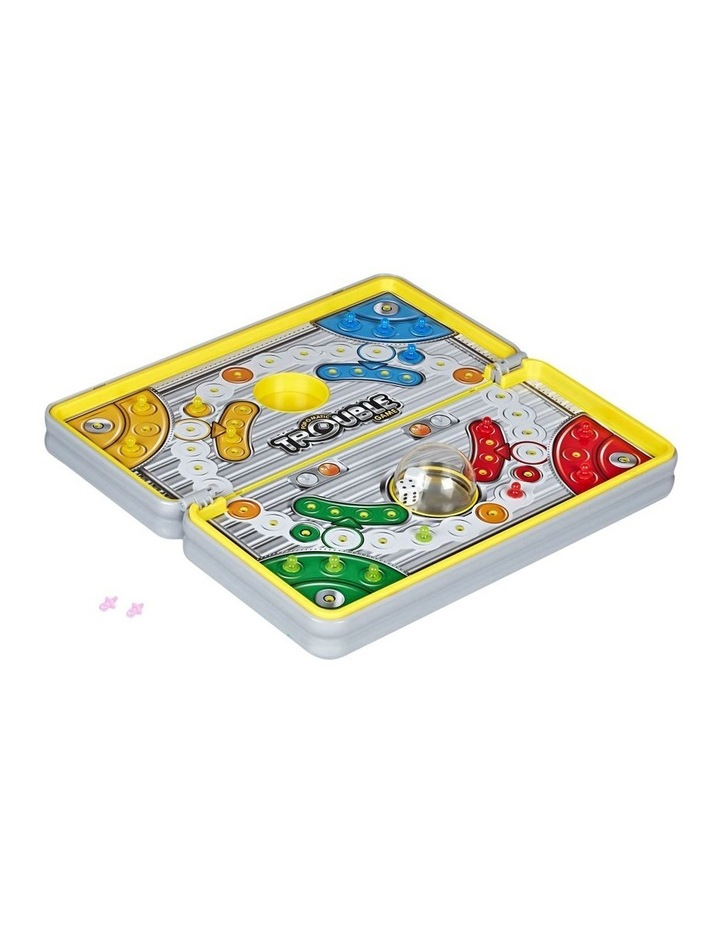 Pop O Matic Trouble - Road Trip Edition - Portable Board Games image 2