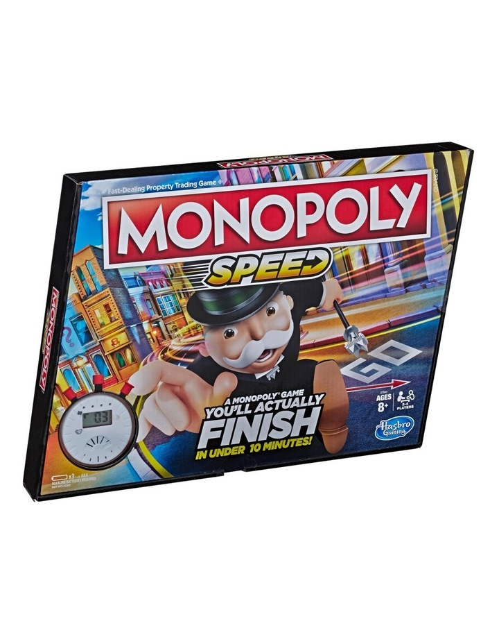 Monopoly Speed - In Under 10 Minutes image 1
