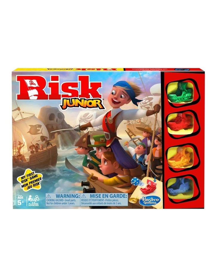 Risk Junior Game - Intro to the Classic Board Game for Kids - Ages 5  image 1