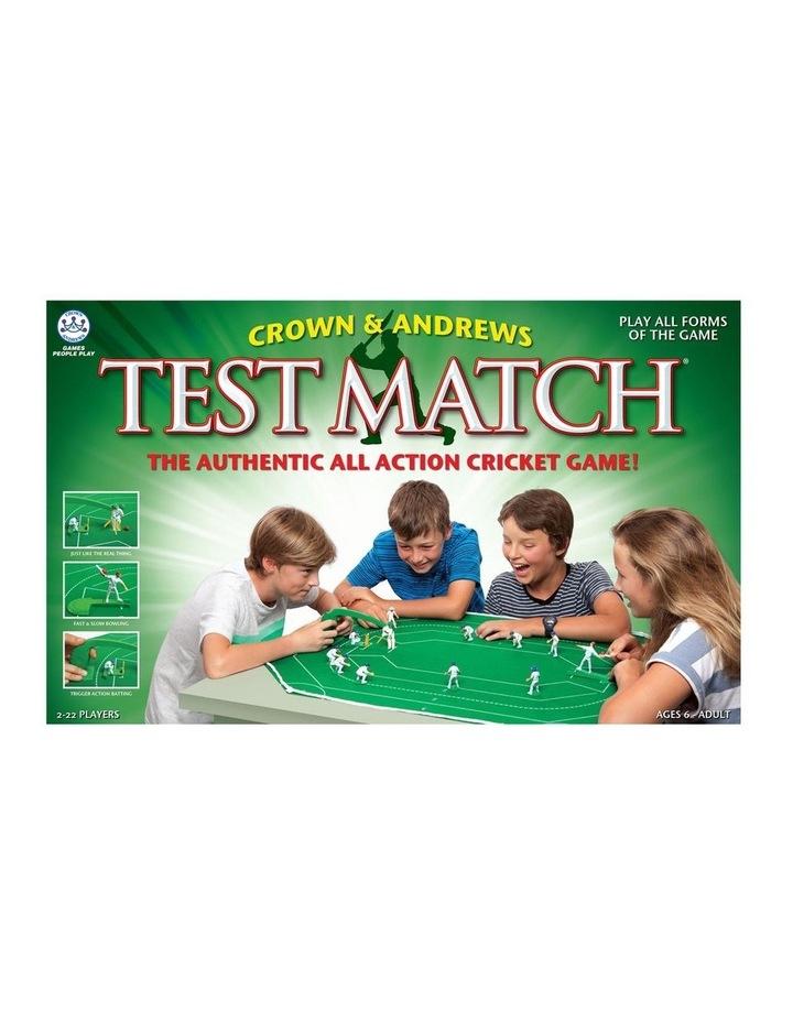 TEST MATCH image 1