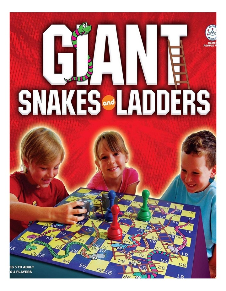 Giant Snakes & Ladders image 1