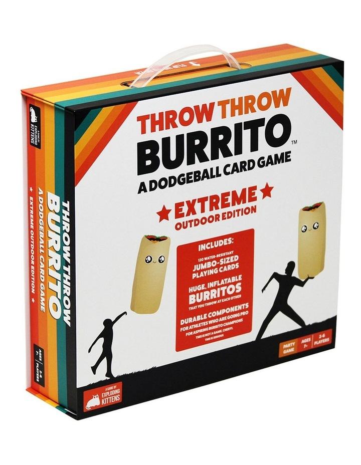 Throw Throw Burrito Extreme Outdoor Edition image 1