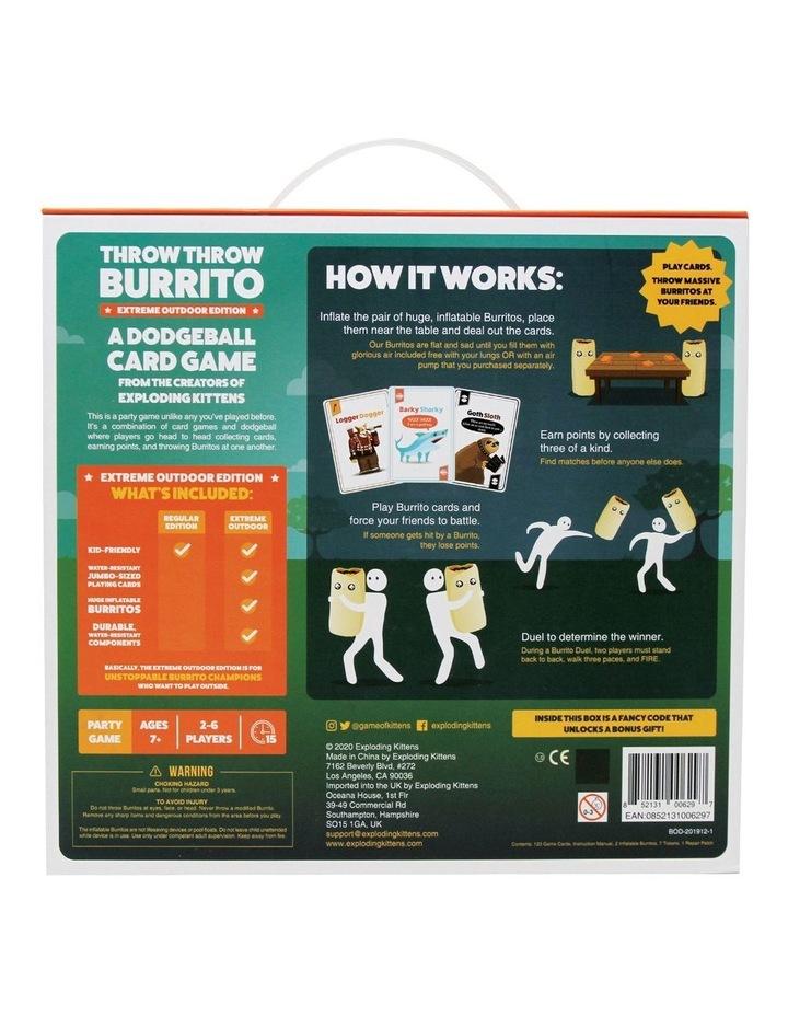 Throw Throw Burrito Extreme Outdoor Edition image 5