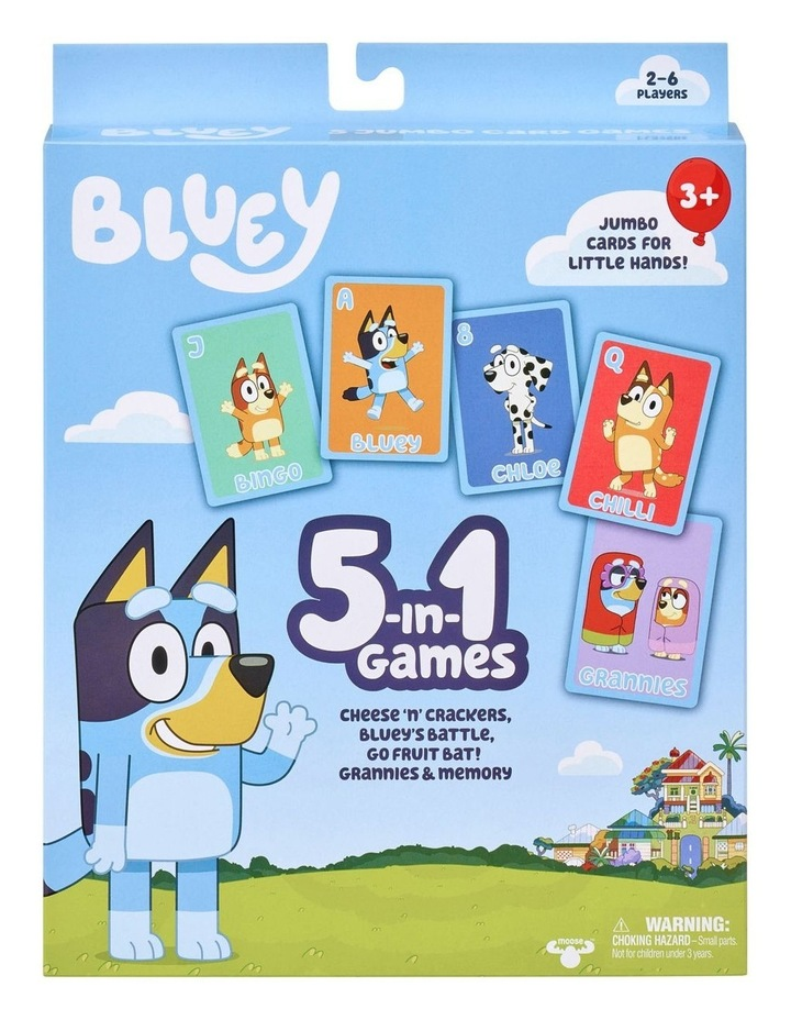 Bluey 5-in-1 Game image 1