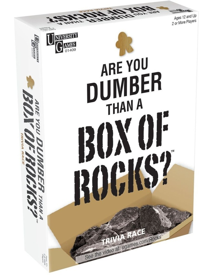 Are You Dumber Than a Box of Rocks? image 1