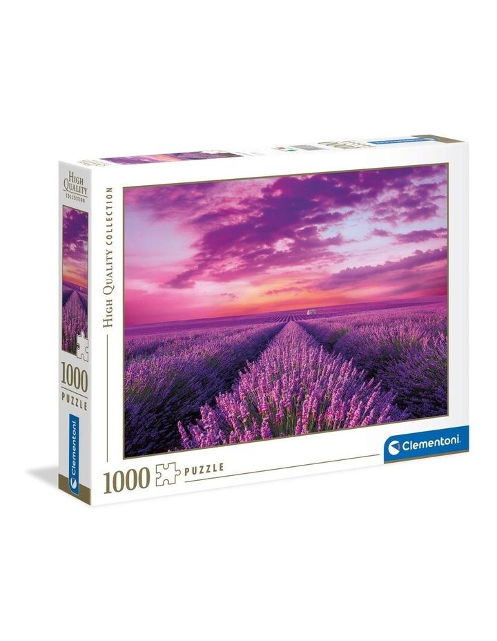 1000 Piece  Puzzle Lavender Field 39606.1 image 1
