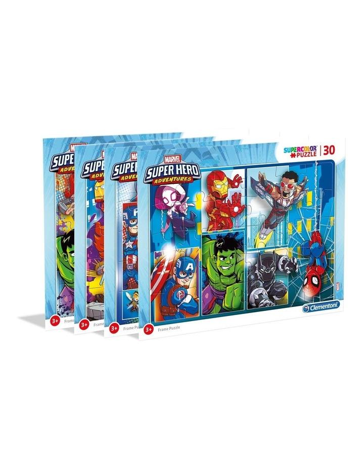 30 Piece Frame  Puzzle Marvel Su Pieceerhero 22703.7 image 1