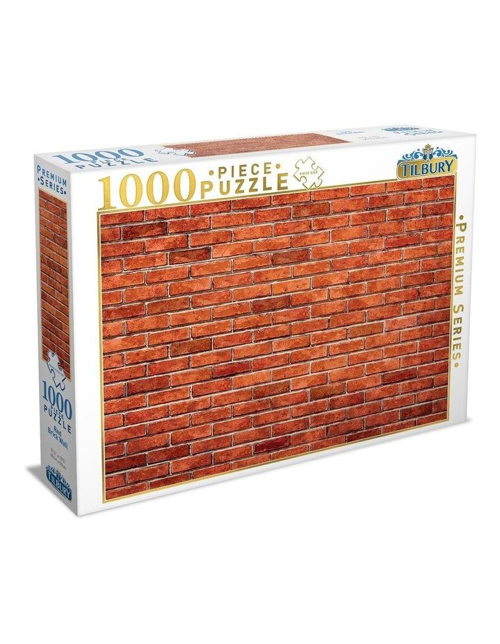 Premium Quality 1000 Piece Red Brick Wall image 1