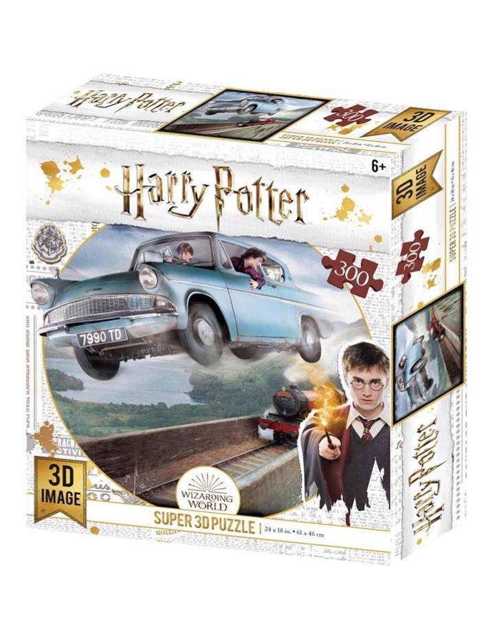 Super 3D 300pc Harry Potter Jigsaw Puzzle image 1