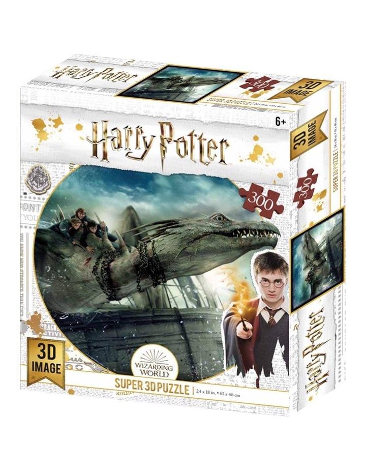 Super 3D 300pc Harry Potter Jigsaw Puzzle image 6