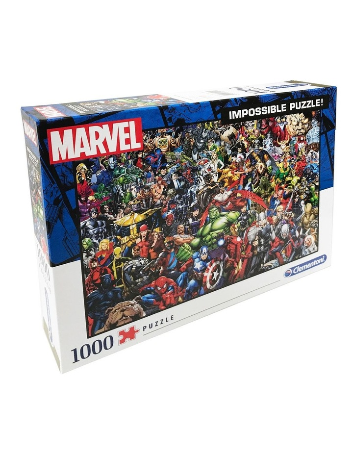 1000pce Impossible Puzzle  Marvel image 1