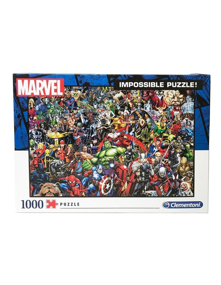 1000pce Impossible Puzzle  Marvel image 2