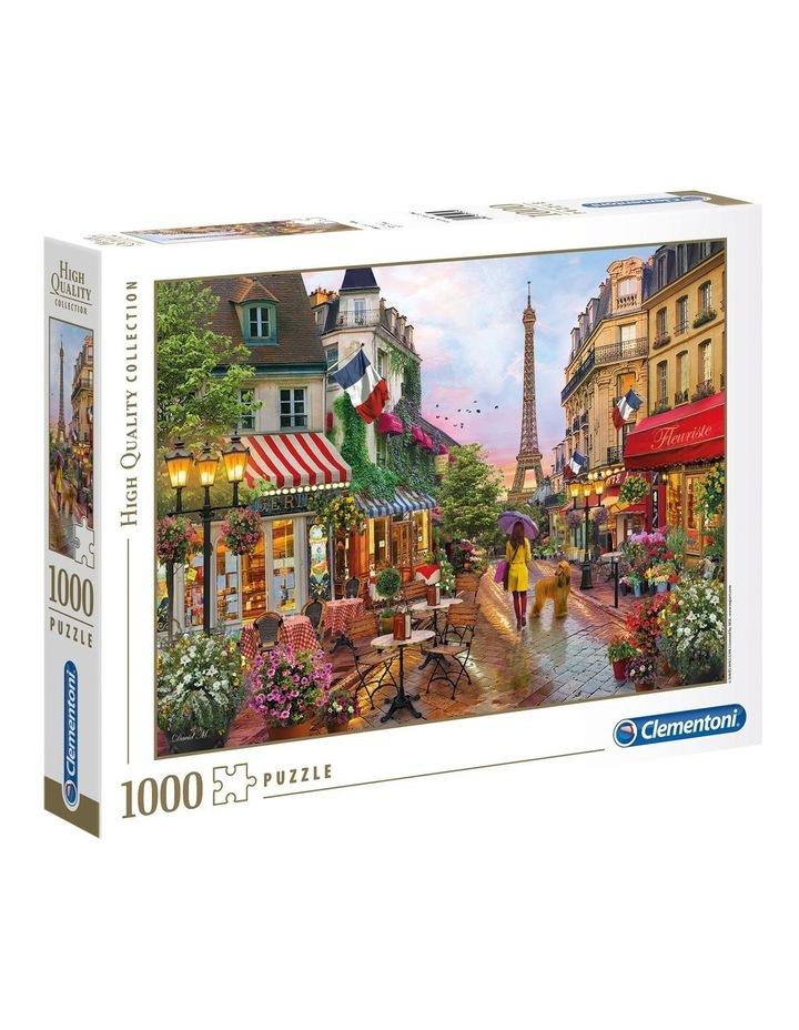 1000pce Paris in Flower Puzzle image 1