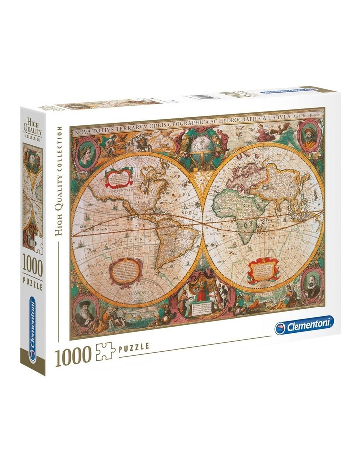 Mappa Antica - Old Map 1000pce Clementoni Puzzle image 1