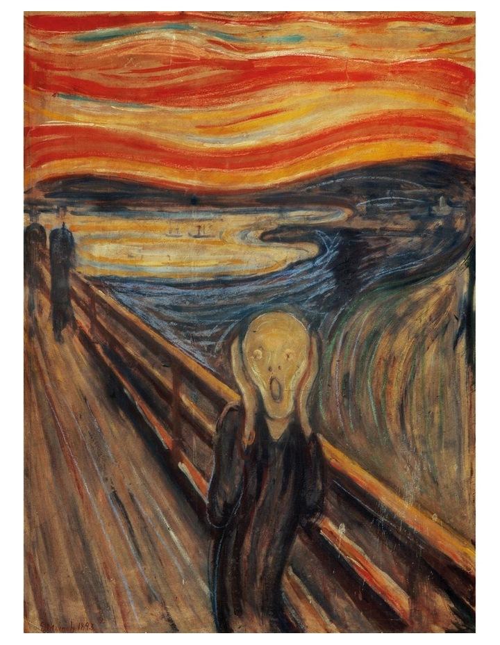 Museum Scream 1000pce Clementoni Puzzle image 2
