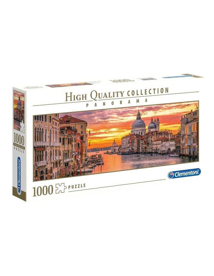The Grand Canal - Venice 1000pce Panorama Clementoni Puzzle image 1