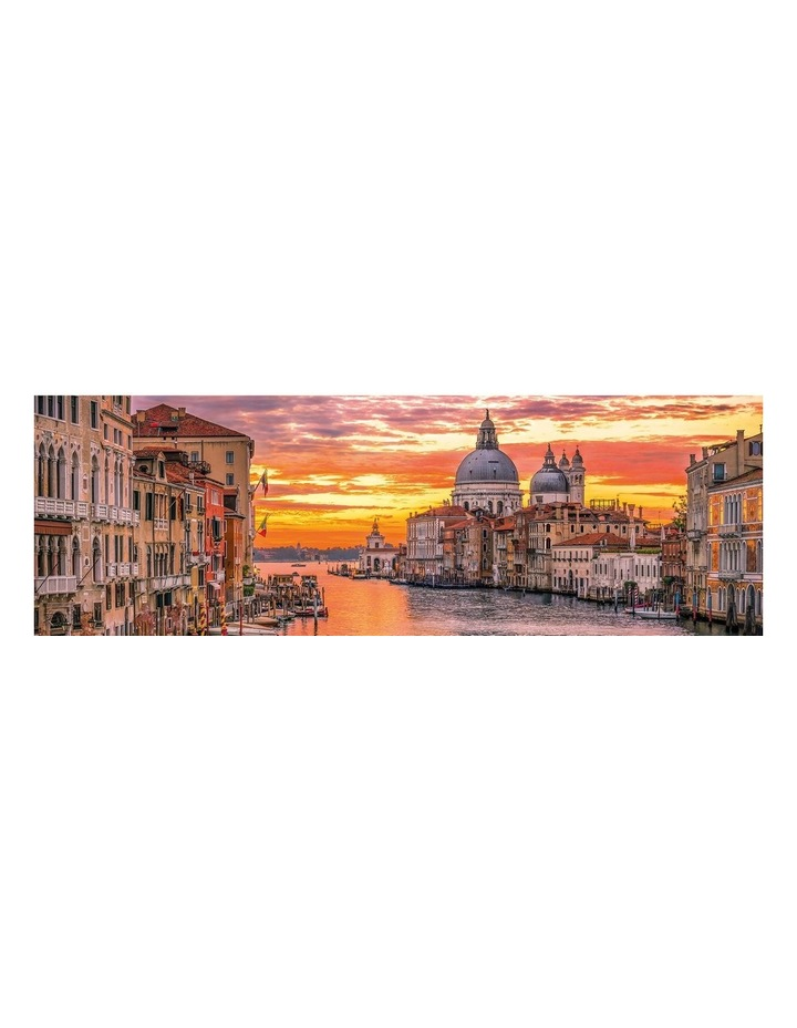 The Grand Canal - Venice 1000pce Panorama Clementoni Puzzle image 2