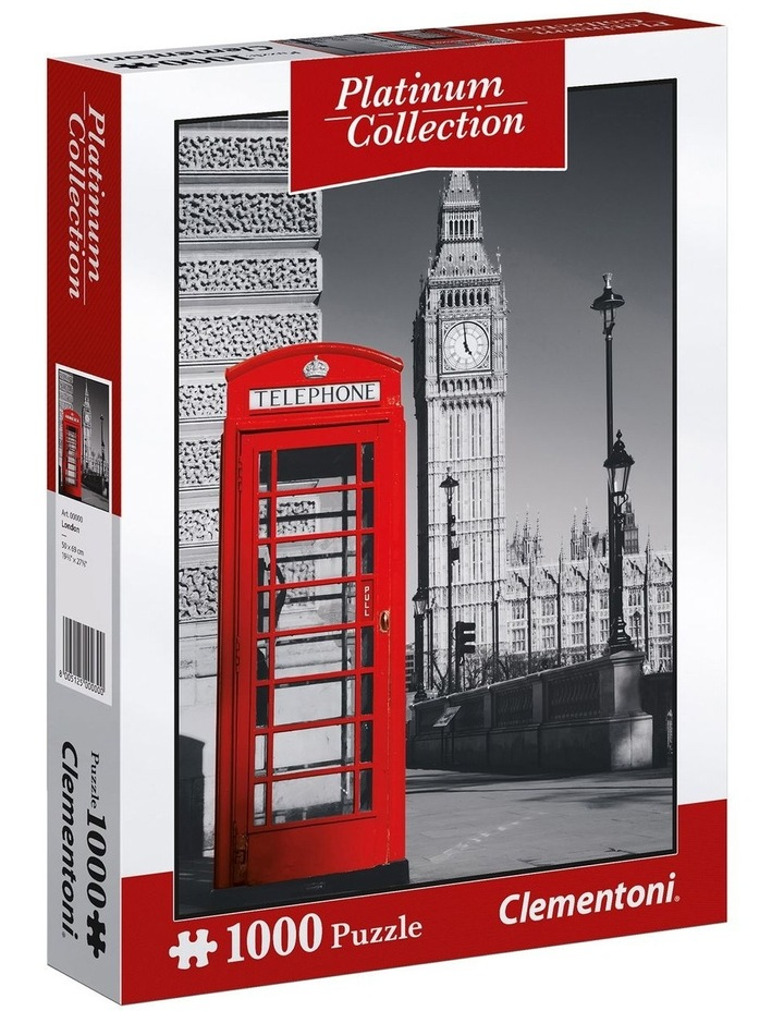 1000pce London Phone Box Puzzle image 1