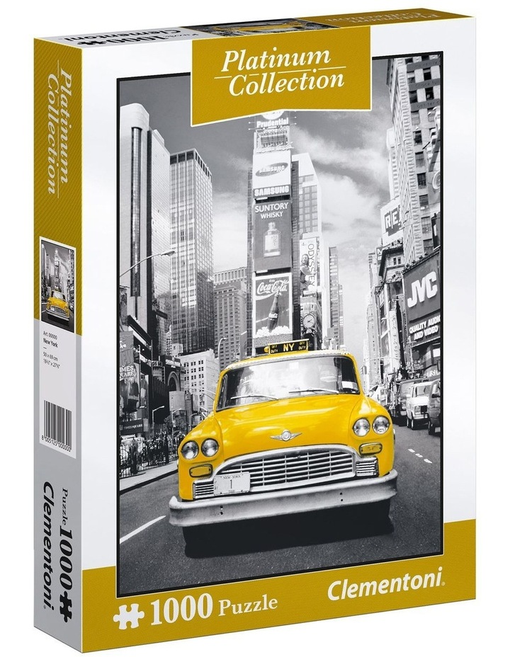 1000pce New York Taxi Puzzle image 1
