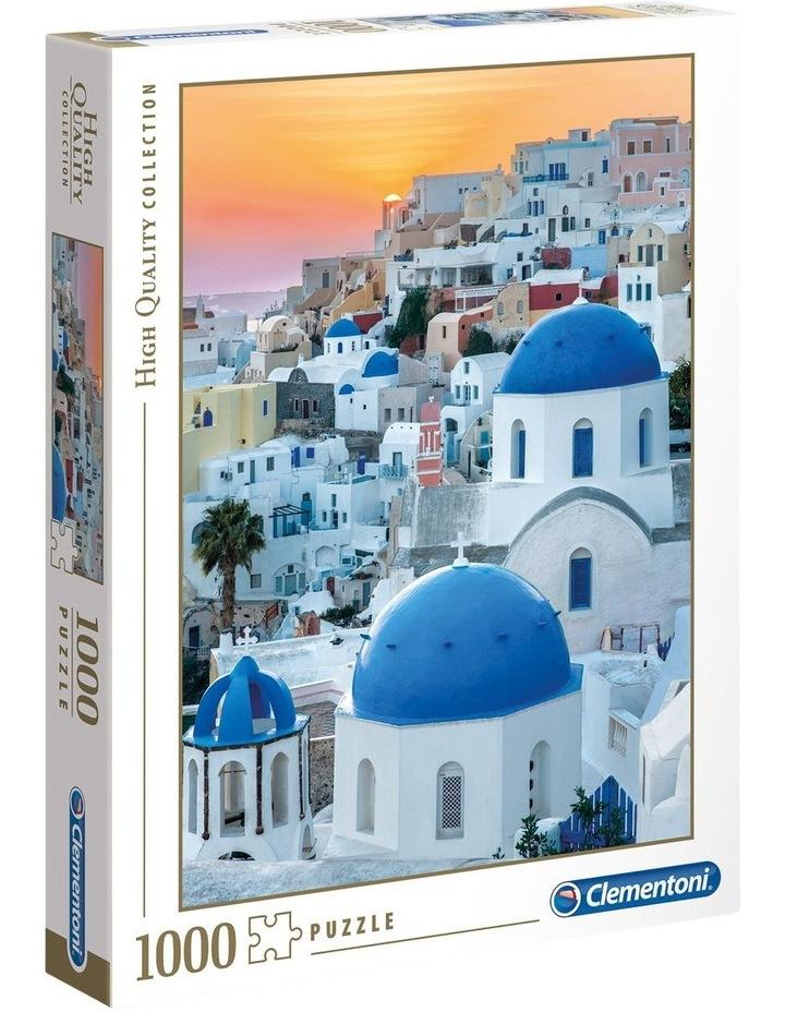 Santorini 1000pce Clementoni Puzzle image 1