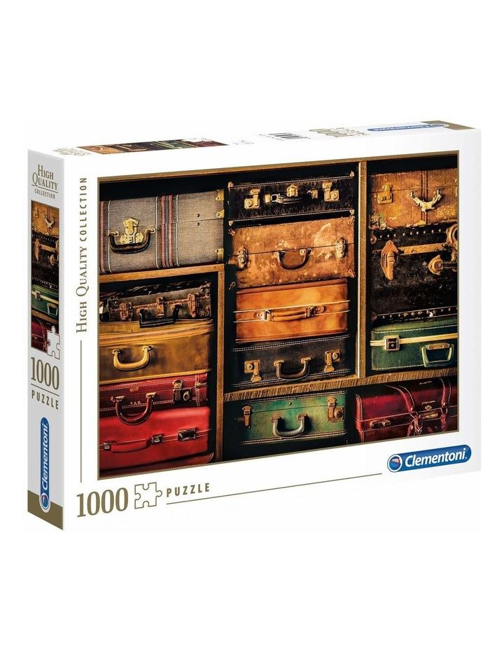 1000pce Travel Suitcases Puzzle image 1