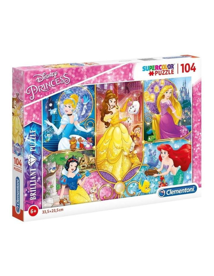 Supercolor 104pce Brilliant Puzzle - Disney Princess image 1