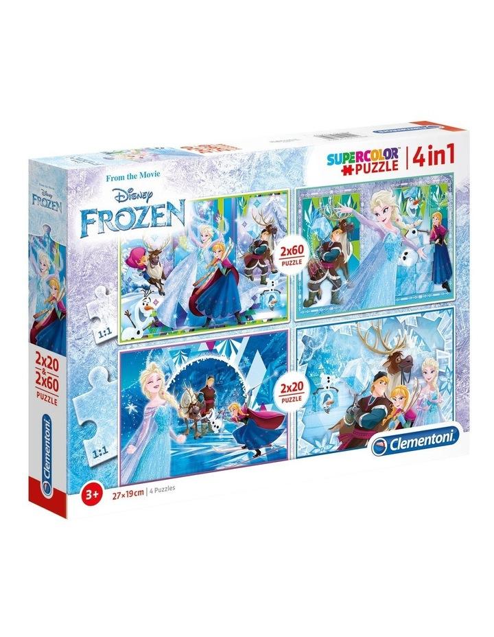Disney Frozen - 2x20 2x60 pcs Clementoni Puzzles image 1