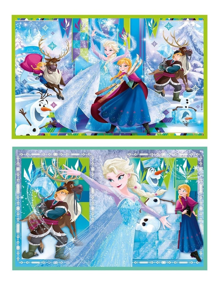 Disney Frozen - 2x20 2x60 pcs Clementoni Puzzles image 3