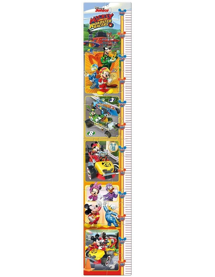 Disney Mickey and The Roadster Racers Measure Me Puzzle (30 Pcs) image 2