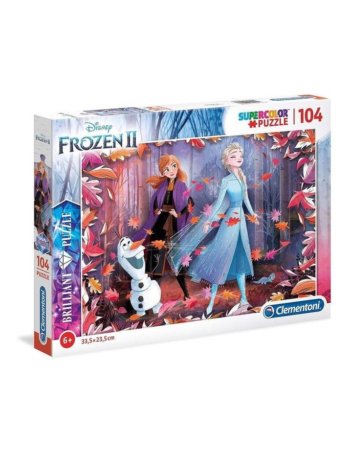 104pc Holographic Frozen 2 Brilliant Puzzle image 1